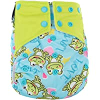 Etbotu Diaper Pants for Baby,Breathable Leakproof,Washable Reusable Printed Nappy Pants,100% Healthy Material,Quite Soft