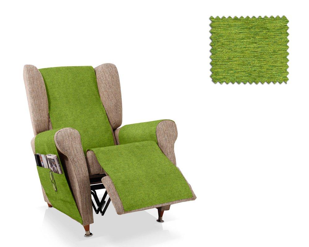 JM Textil Salvapoltrona reclinabile Biggie Dimensione 1 Posto (55 Cm.), Colore 01 (Vari Colori Disponibili)