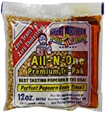 4111 Great Northern Popcorn Premium 12 Ounce Popcorn Portion Packs Cinema, Case of 24