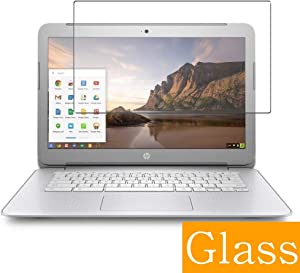 """Synvy Tempered Glass Screen Protector for HP Chromebook 14 G1 14"""" Visible Area Protective Screen Film Protectors 9H Anti-Scratch Bubble Free"""