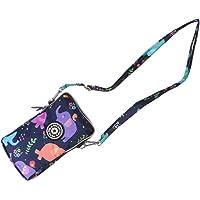 FENICAL 1 unid con cremallera bolsa para teléfono soporte para teléfono cuello bolsas colgantes bolso de moda bolso para…