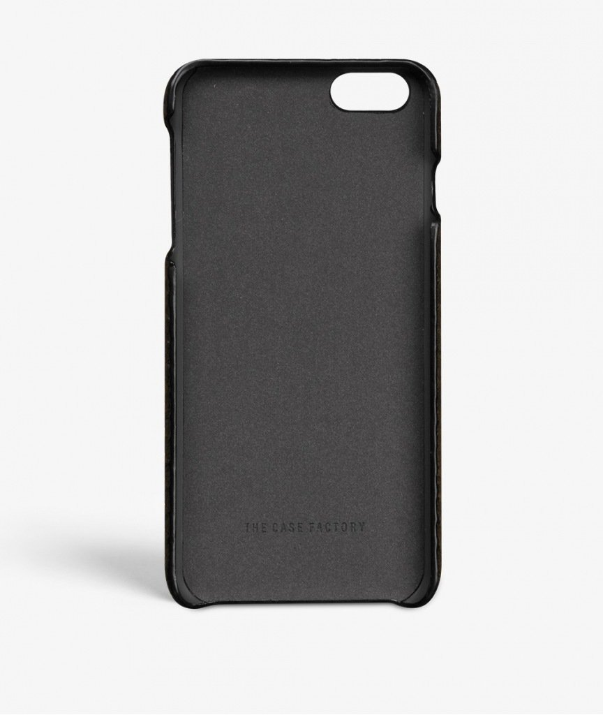 sale retailer 7ffde 21a7e The Case Factory iPhone 6/6s Plus Real Leather Case in: Amazon.co.uk ...