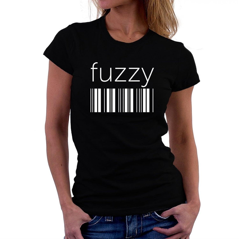 fuzzy barcode Women T-Shirt