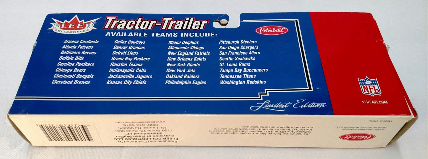 Chicago Bears 2005 Limited Edition Die Cast Tractor Trailer