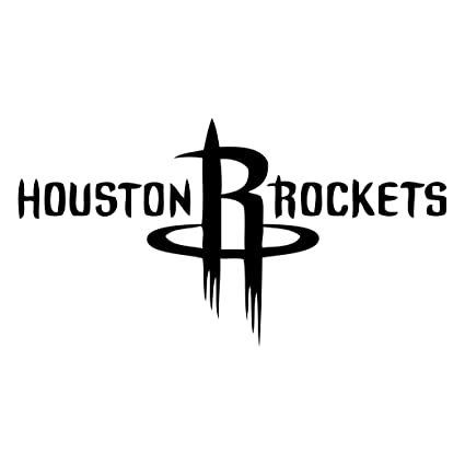 Houston rockets vinyl decal sticker for car