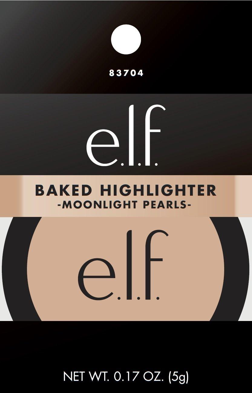 e.l.f. Baked Highlighter, Moonlight Pearl, 0.17 Ounce 83704