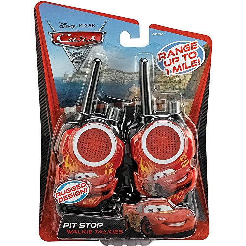 Disney Pixar Cars 2 Walkie Talkies