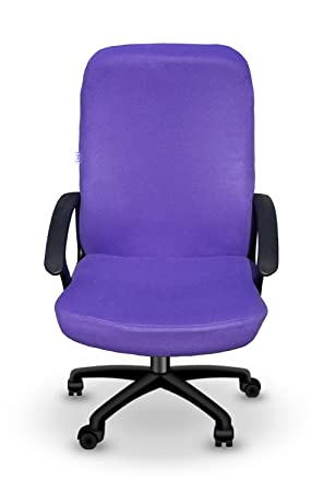 Purple Office Computer Desk Chair Cover   Slipcover   Removable U0026 Washable    Made In America