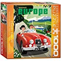 Travel Europe Puzzle, 1000-Piece