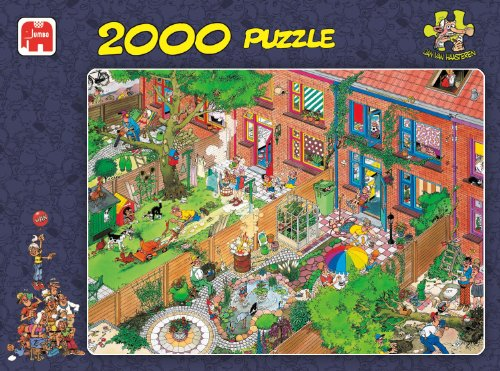 Jumbo Jan Van Haasteren Neighbours Puzzle (2000-Piece)