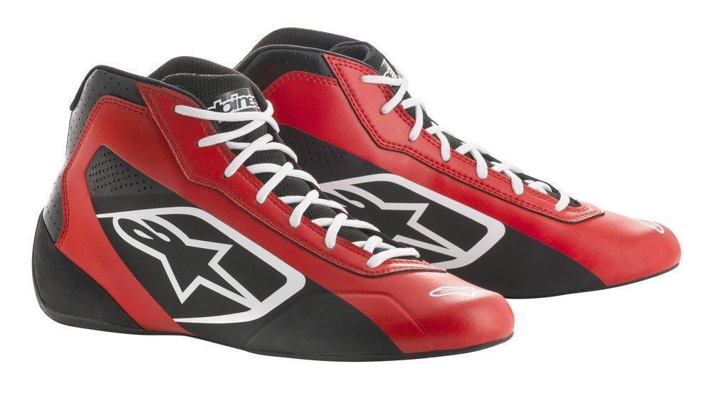 alpinestars(アルパインスターズ) TECH 1-K START KART SHOES WHITE/BLACK/RED 8 2711518-213-8 B0789NTGT3  WHITE/BLACK/RED 8