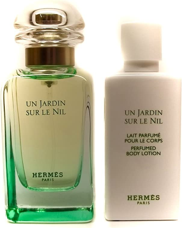 Hermès Un jardin sur le Nil Femme/Woman Set (Eau de toilette, 50 ml y loción corporal, 40 ml): Amazon.es: Belleza