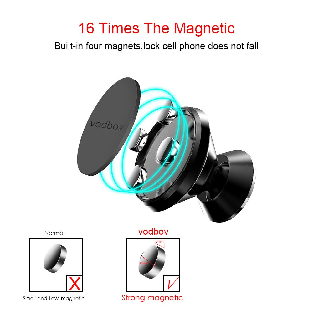Micatel Magnetic Phone Holder for Car Dashboard,Car Phone Mount with a Super Strong Magnet for Cell Phone 4351675513