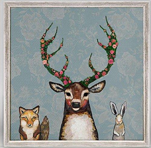 Hare Framed Print (Fox, Buck and Hare Framed Wall Art, 6