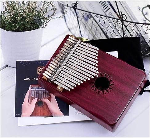 Kalimba, piano de pulgar 17 Claves del dedo pulgar Kalimba ...