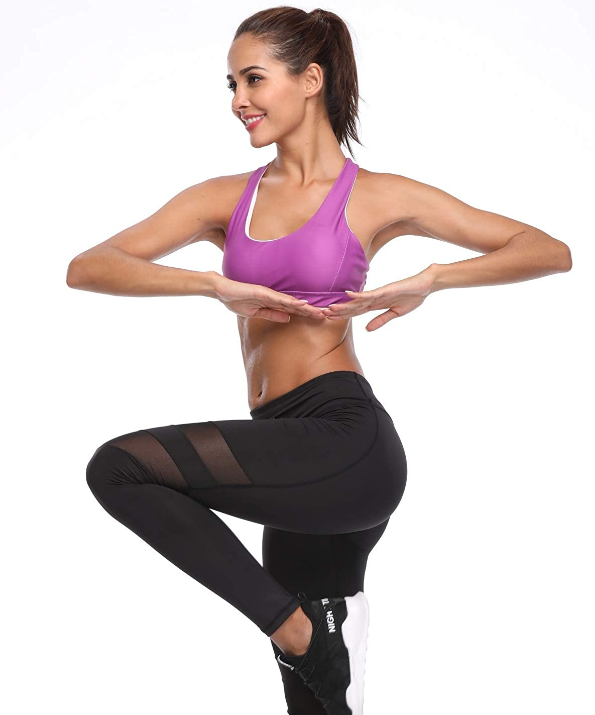 aab600bbbf0b74 Zida Women's Sports Bra Strappy Activewear Workout Yoga Sport Bra at Amazon  Women's Clothing store: