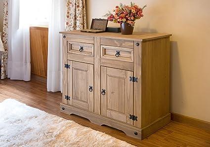 SAM® Cómoda Santa Fe, mueble de estilo mexicano, cajonera de madera ...