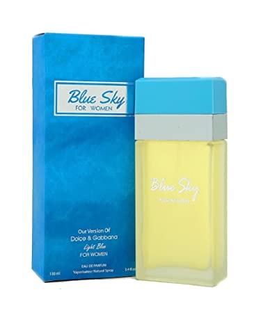 Blue Sky Perfume for Women 3.4 Fl Oz - 100ml