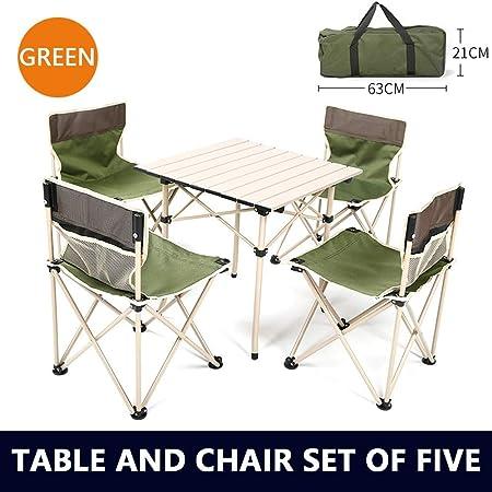 Camping Klappstuhl mit Tisch