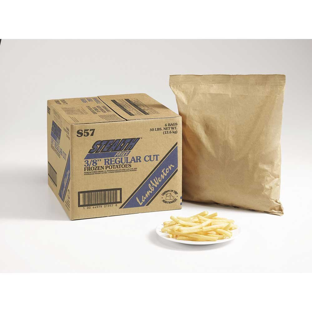 Lamb Weston Stealth Regular Cut French Fry, 5 Pound -- 6 per case.