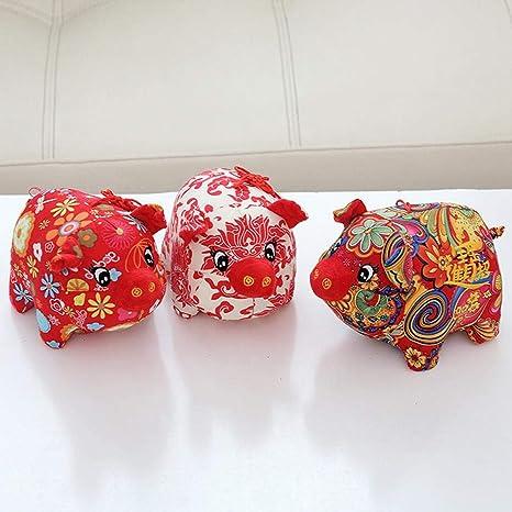 Coil.c Pig De Peluche Año Chinese New Year, Mascota De ...