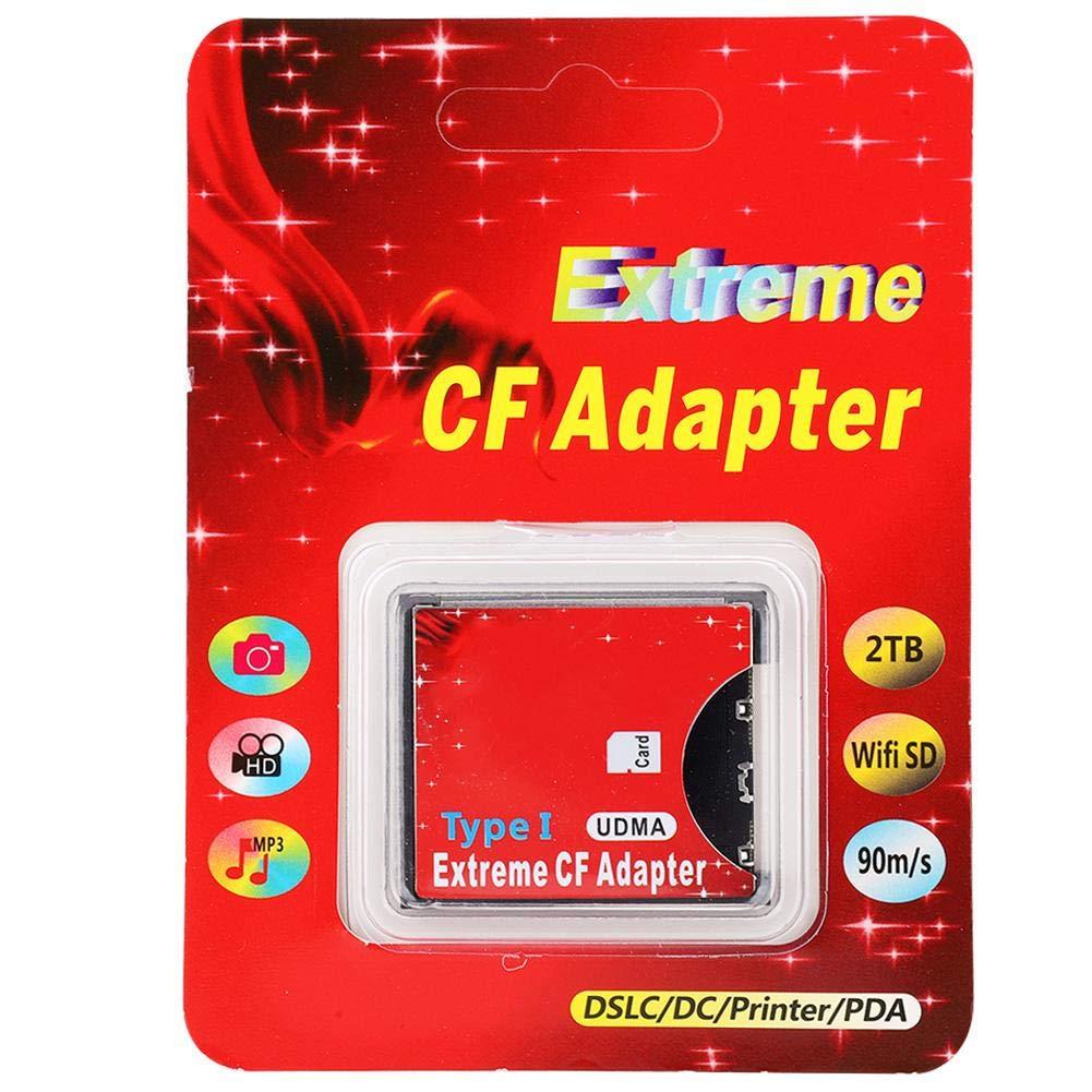Wendry Adaptador de Tarjeta SD CF, Tarjeta de Memoria WiFi a ...