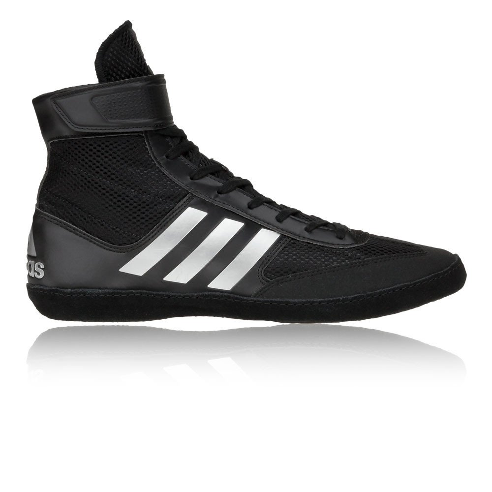 Adidas Combat Speed 5 Wrestling Shoes - SS18-10 - Black by adidas