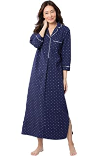 50d3ebf97a PajamaGram Oh-So-Soft Long Nightgown Womens - Nightgowns for Women Cotton