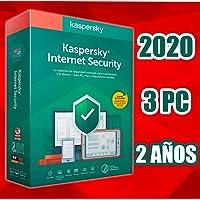 KASPERSKY INTERNET SECURITY 2020 2-AÑOS 3PC