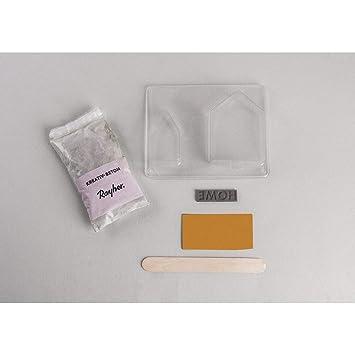 Rayher BP casetas de hormigón, Varios, Gris, 2.2 X 1.5 X 0.6 cm: Amazon.es: Hogar