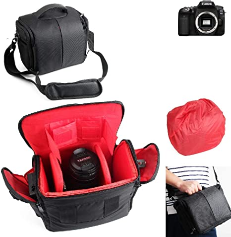 K-S-Trade® Para Canon EOS 90D: Impermeable Anti-Choque DSLR SLR ...