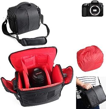 K-S-Trade® Para Canon EOS 90D: Impermeable Anti-Choque DSLR SLR ...