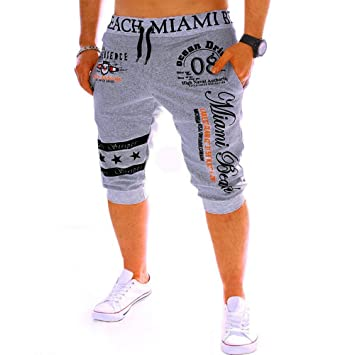Geographical Norway Herren Shorts Sweatpants Jogginghose kurze Hose Blau Navy M