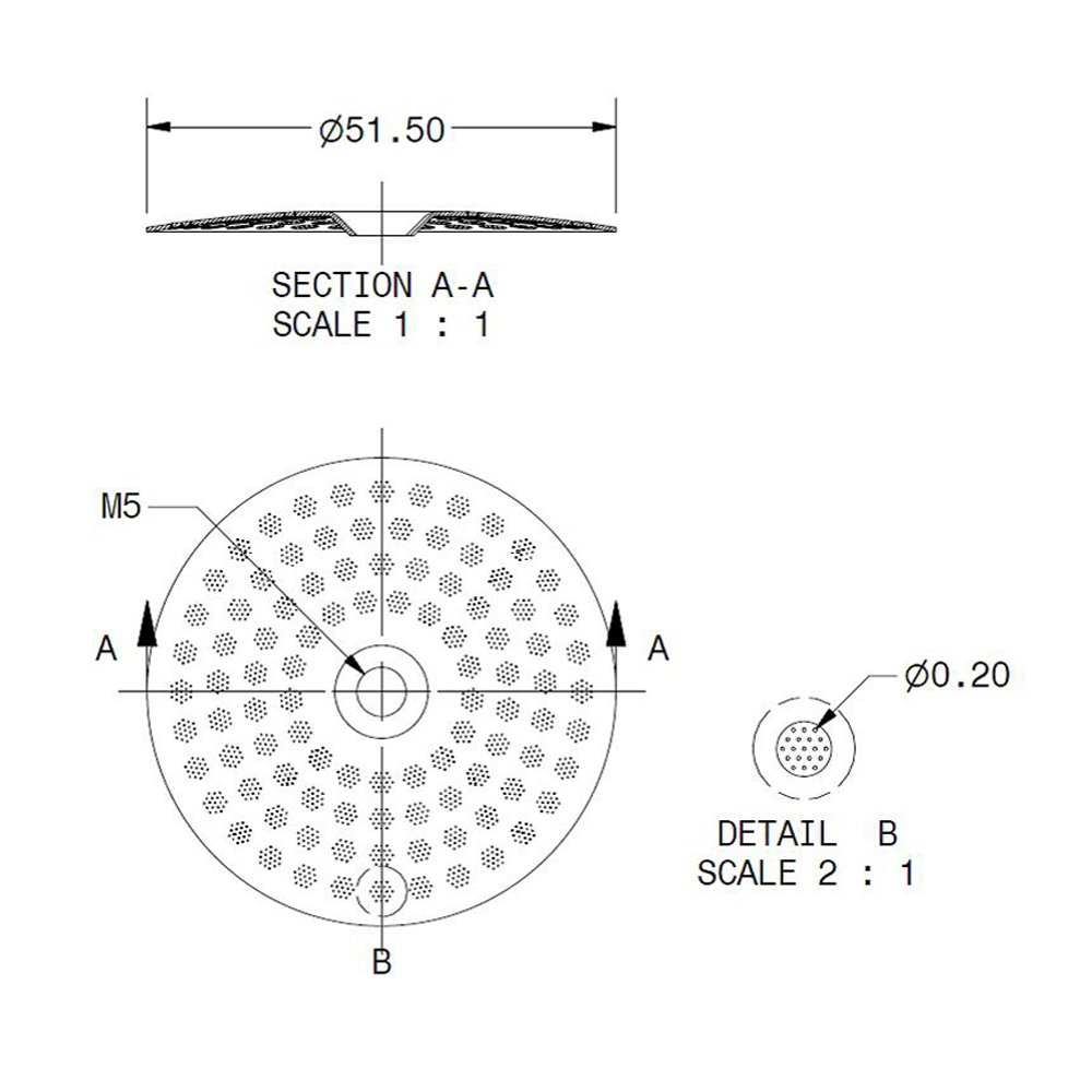 IMS competencia precisión ducha SCREEEN para la Cimbali - CI 200 ...