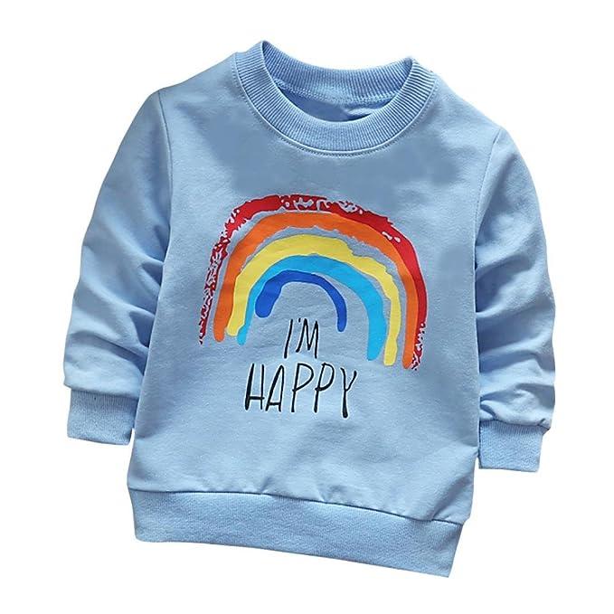 Amazon.com: AmyDong - Blusa de manga larga suave para niños ...