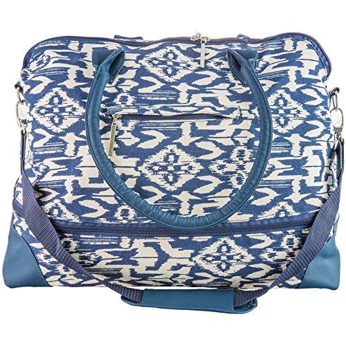 The Maureen by j/fit - Ikat Travel Bag (J Fit Yoga Mat Shoulder Tote)