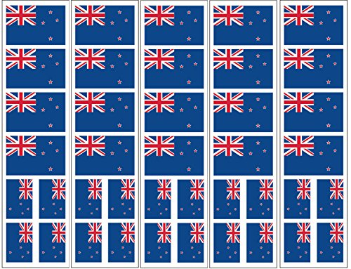 40 Tattoos: New Zealand Flag, Party Favors