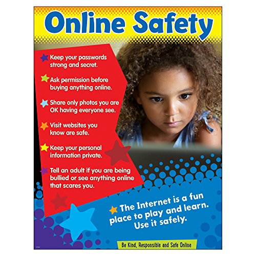 Trend Enterprises Online Safety (Primary) Learning Chart (1 Piece), 17