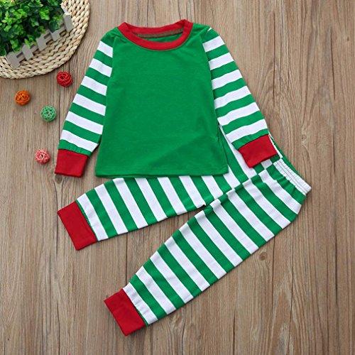 Shirt gestreiftes Langarmshirt Outfits Hose Set T Kinderkleidung ...