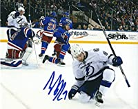 Autographed Tyler Johnson Tampa Bay Lightning 8x10 Photo