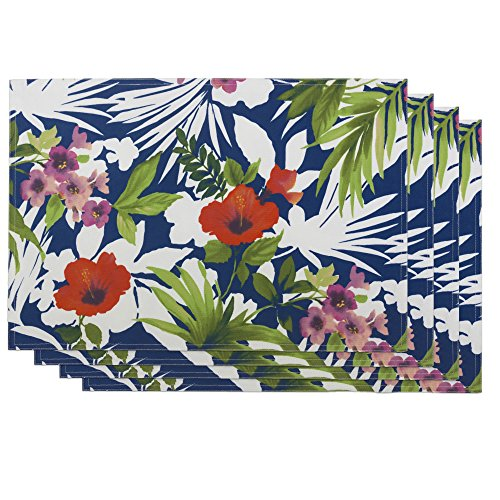 Bardwil Tommy Bahama Bernini Floral Placemats (Set of 4)