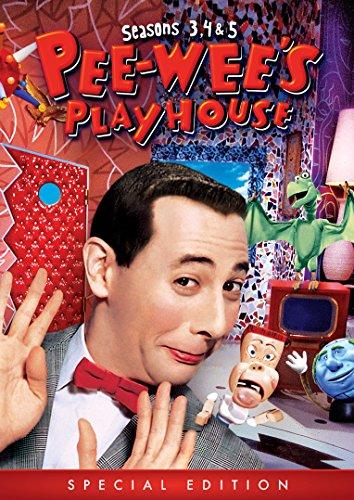 Pee-wee's Playhouse: Seasons 3, 4 & 5 (Special Edition) (Dvd Pee Wees Playhouse)