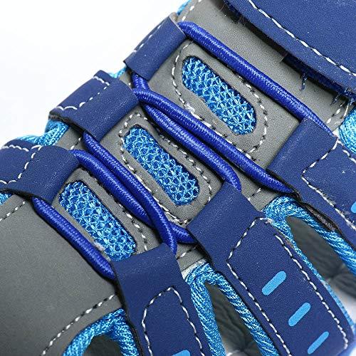 Blu Sandali Fondo Bambina Moda Elegante Estivi Unisex Scarpe Punta Spiaggia Confortevole Morbido Per Sportive Principessa Chiusa Bambini honestyi Sneaker Velcro zRqH1nWxz