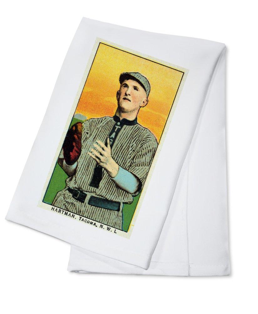 タコマNorthwestern League – Hartman – 野球カード Cotton Towel LANT-23612-TL Cotton Towel  B018BBRMR8