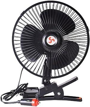 VORCOOL 12 V coche ventilador de refrigeración ventilador de ...