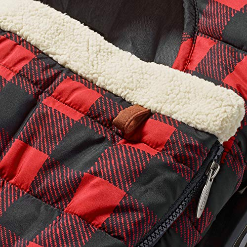 JJ Cole Car Seat Cover, Buffalo Check