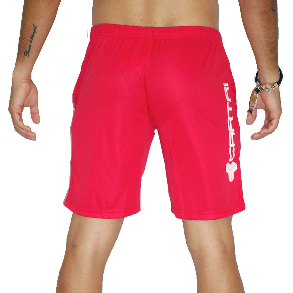 CARTRI - Pant/Corto Trainer Red/White: Amazon.es: Deportes y ...