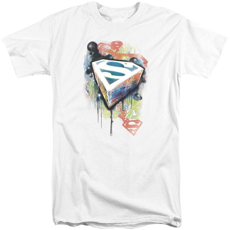 Superman Men's Urban Shields Tall T-Shirt