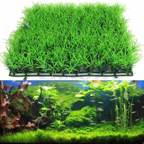 New Artificial Water Aquatic Green Grass Plant Lawn