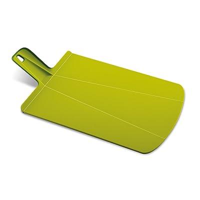Joseph Joseph Chop2Pot Foldable Plastic Cutting Board 19-inch x 10.75-inch Chopping Board Kitchen Prep Mat